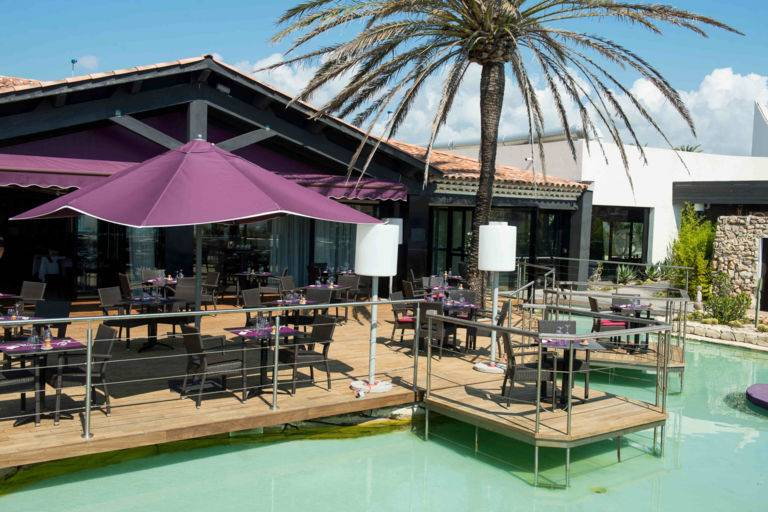 Restaurant vue mer Antibes Siesta