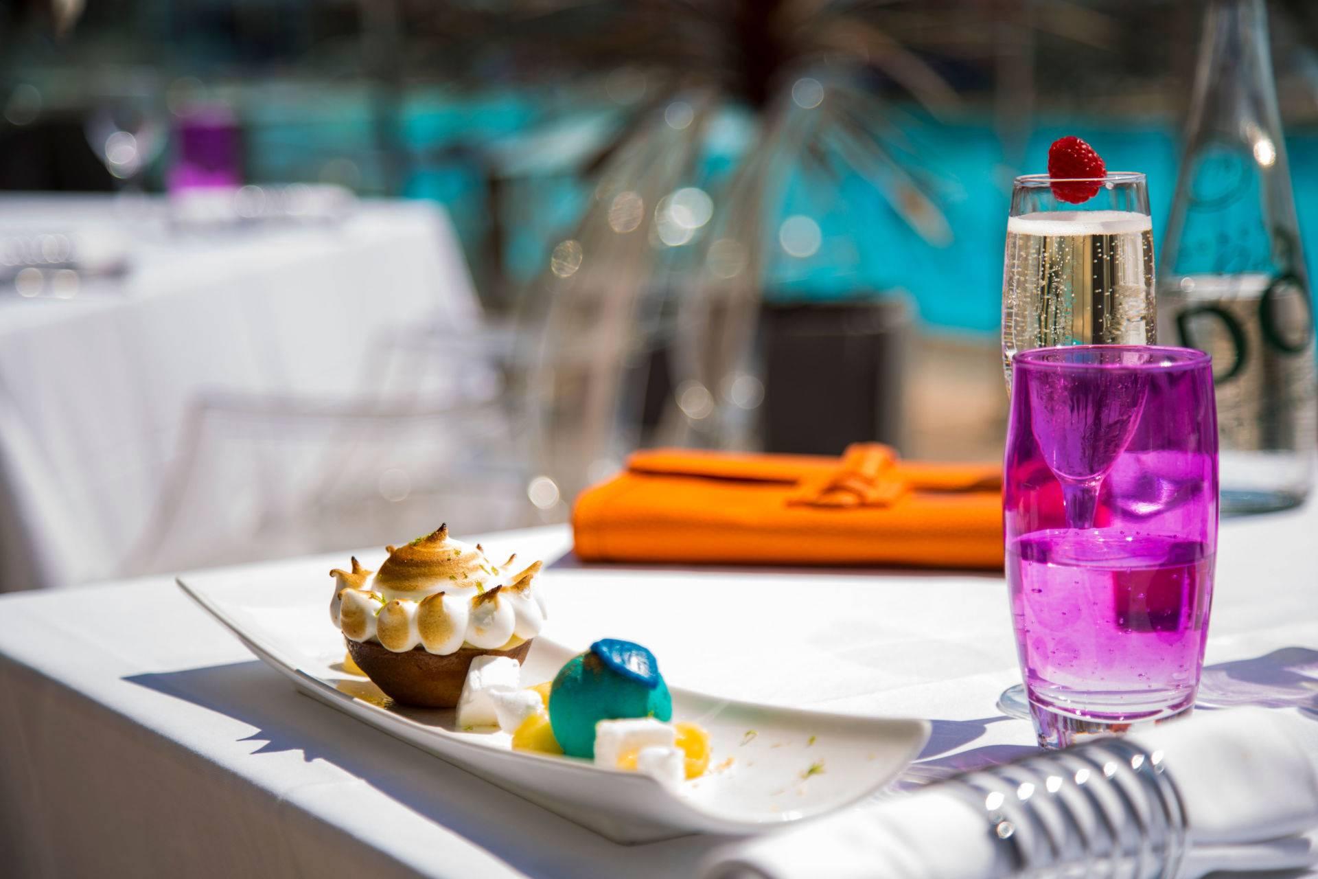 Terrasse restaurant Blue Lemon Cannes Mandelieu JOA