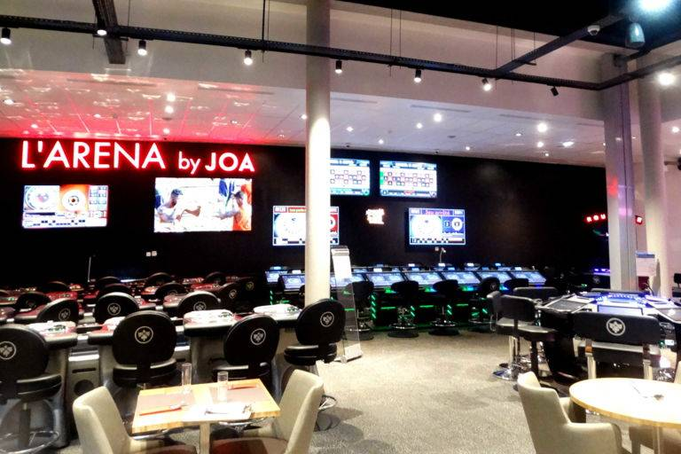 Salle Arena casino JOA Montrond