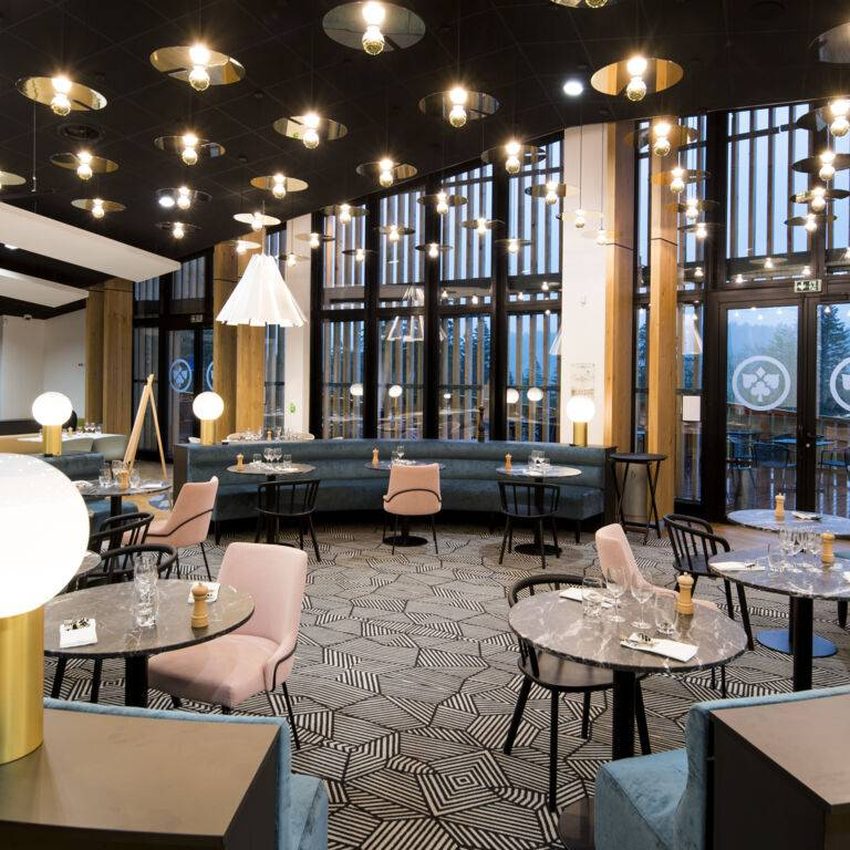 Comptoir JOA St Laurent en Grandvaux salle restaurant