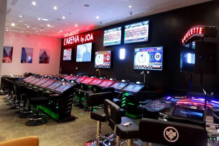 Salle Arena casino JOA Montrond-les-Bains