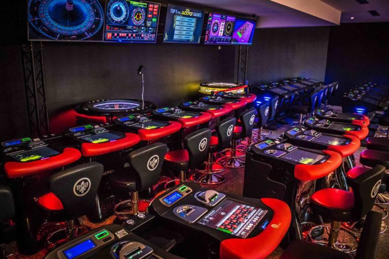 Roulette électronique casino JOA Gujan