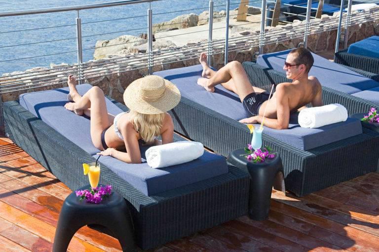 Plage privée Cannes casino JOA