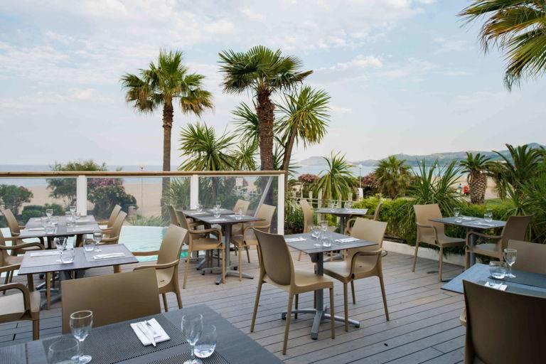 Restaurant terrasse Comptoir JOA Argelès