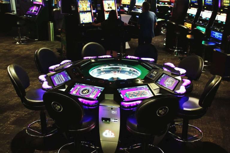 Roulette anglaise électronique casino Argelès - JOA