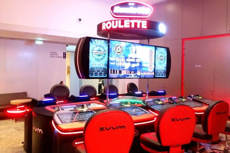 Roulette électronique casino JOA Montrond