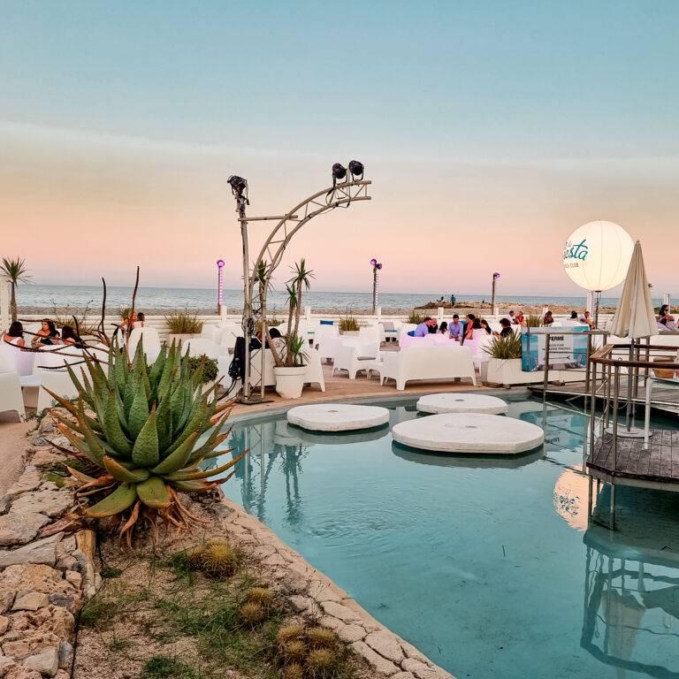 Siesta Beach Club 2021 vue mer