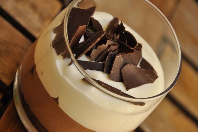 Verrine sucrée chocolat